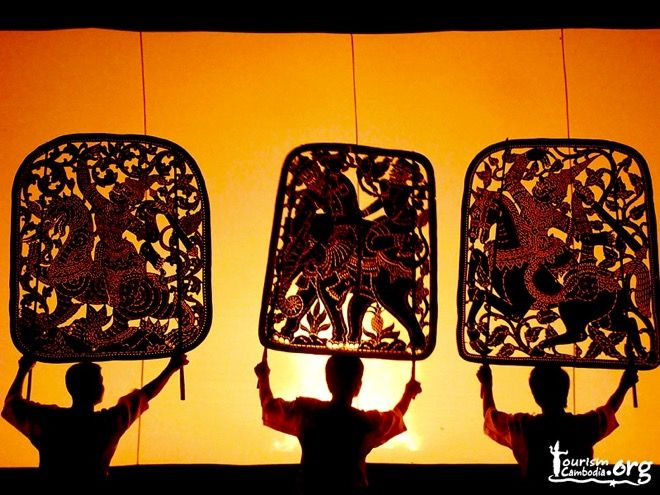 """These amazing performers give a whole new meaning to the phrase """"shadow puppets"""". One of the many traditional art forms you'll discover if you visit Cambodia with your kids. Read all about the capital, Phnom Penh, on our website http://www.suitcasesandstrollers.com/interviews/view/cambodia-with-kids-phnom-penh-insider?l=all #GoogleUs #suitcasesandstrollers #travel #travelwithkids #familytravel #familytraveltips #traveltips #shadows #shadowpuppets #shadowpuppetry #intheshadows #silhouettes"""