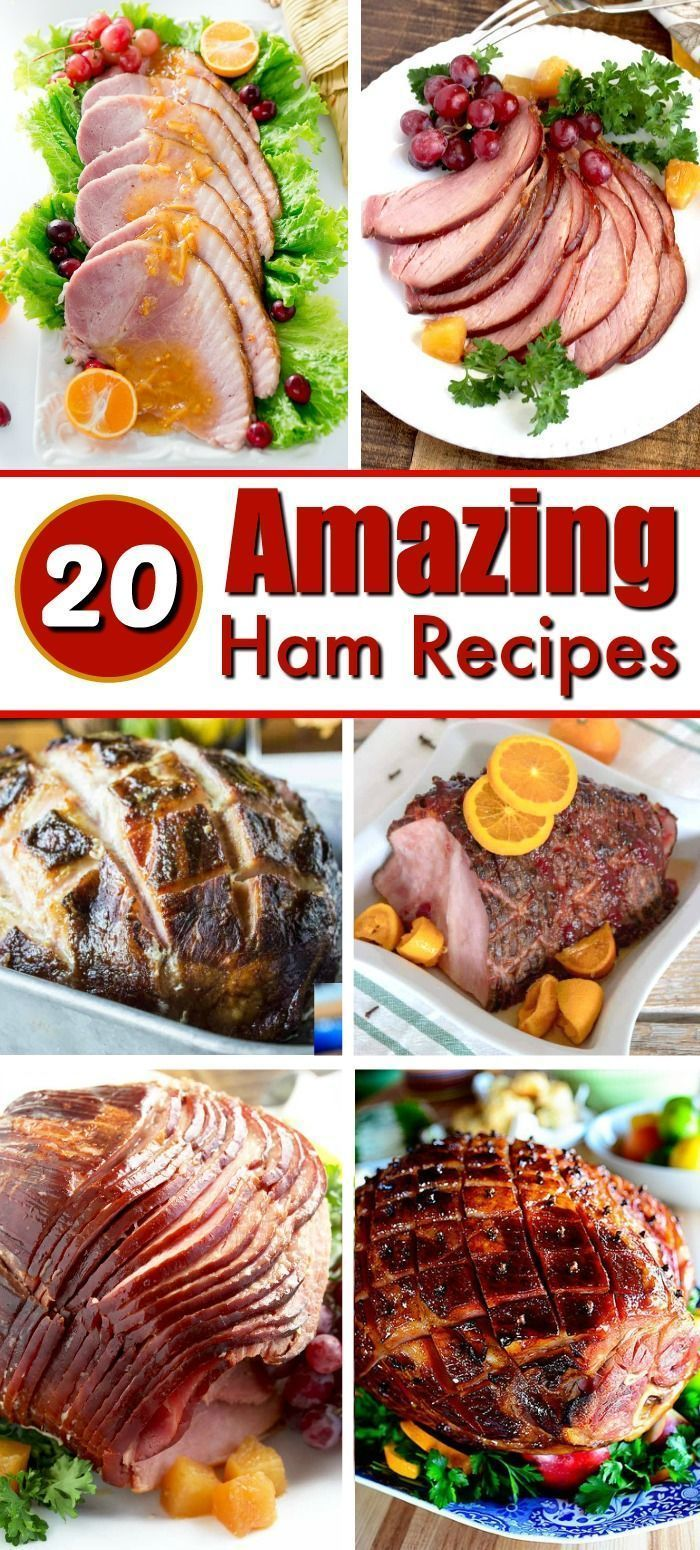 Best Christmas Hams 2020 20 Of The Best Holiday Ham Recipes in 2020 | Christmas ham recipes