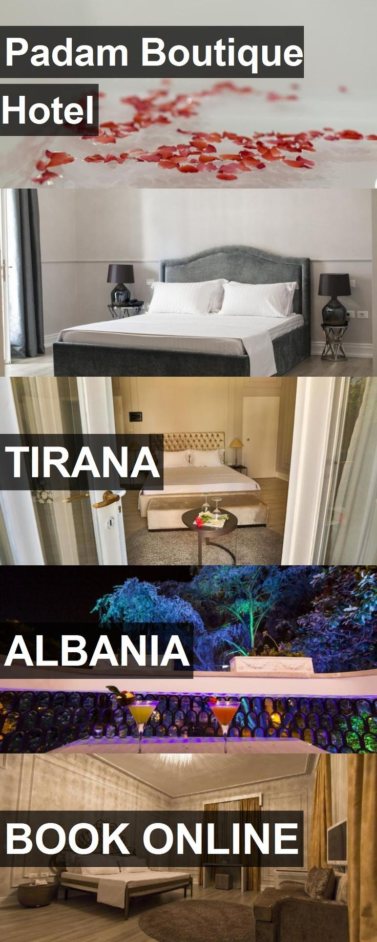 Hotel Padam Boutique Hotel in Tirana, Albania. For more information, photos, reviews and best prices please follow the link. #Albania #Tirana #PadamBoutiqueHotel #hotel #travel #vacation