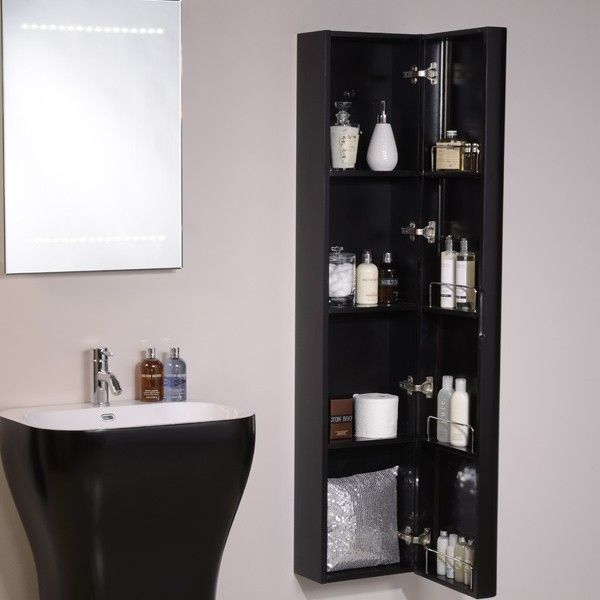 Eclipse Wall Mounted Storage Unit Tall Bathroom Cabinetsbathroom