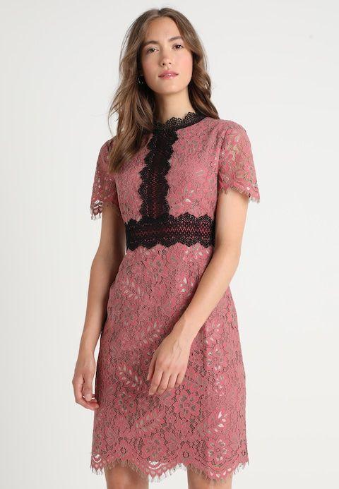 429559497fa6 Anna Field Robe de soirée - black pink - ZALANDO.FR