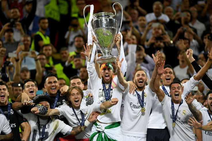 Real Madrid champions 2017