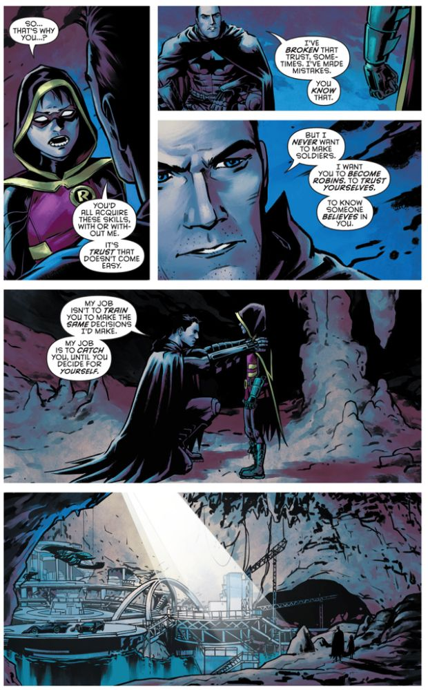 BATMAN'S ULTIMATE GOAL FOR THE ROBINS (Batman and Robin Eternal #22) Part 4