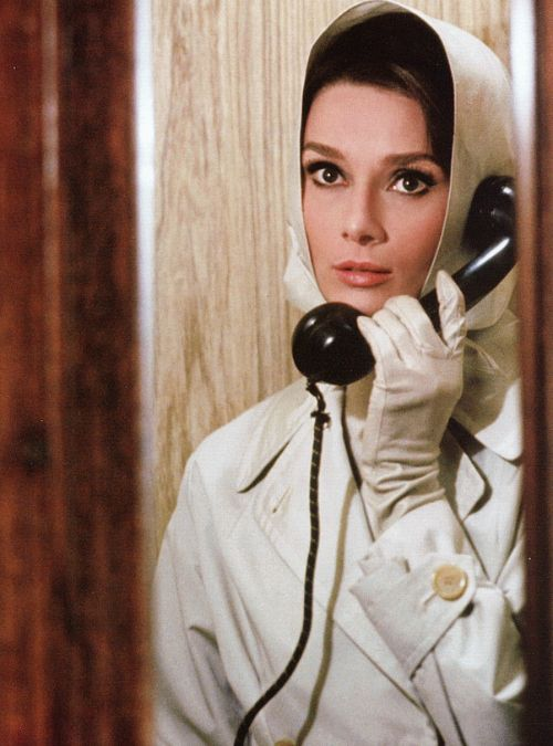 Audrey Hepburn in Charade (1963).