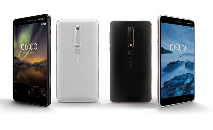 Nokia 6 (2018)  Photo Gallery    https://www.techupdate3.com/2018/01/nokia-6-2018-full-specifications-price.html