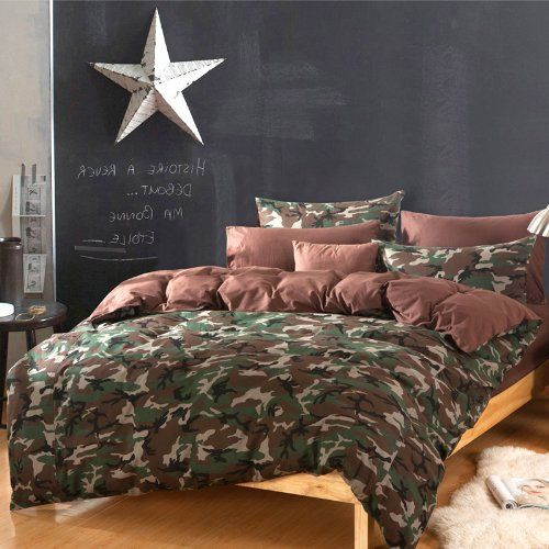 Diaidi Home Textile Camouflage Bedding Set Duvet Cover 4pcs Online Ping