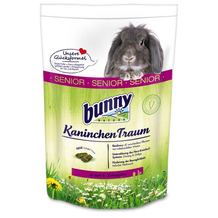Animalerie  Bunny Rêve SENIOR pour lapin nain  2 x 4 kg