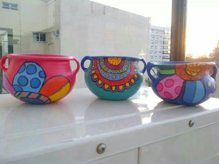 Vasijas decoradas
