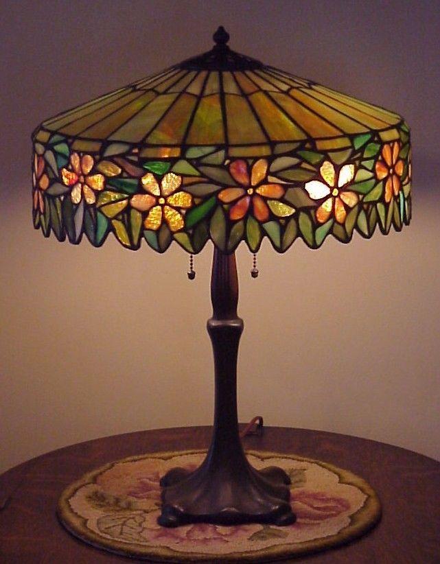 247 best Antique slag glass lamps images on Pinterest ...
