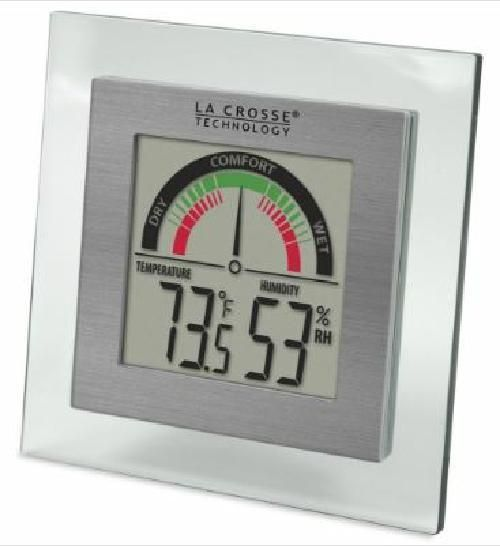 La Crosse Technology Indoor Comfort Level Station Temperature and Humidity #LaCrosseTechnology