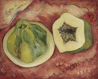 Alexis Preller (1911-1975) - Sliced Pawpaw, 1945