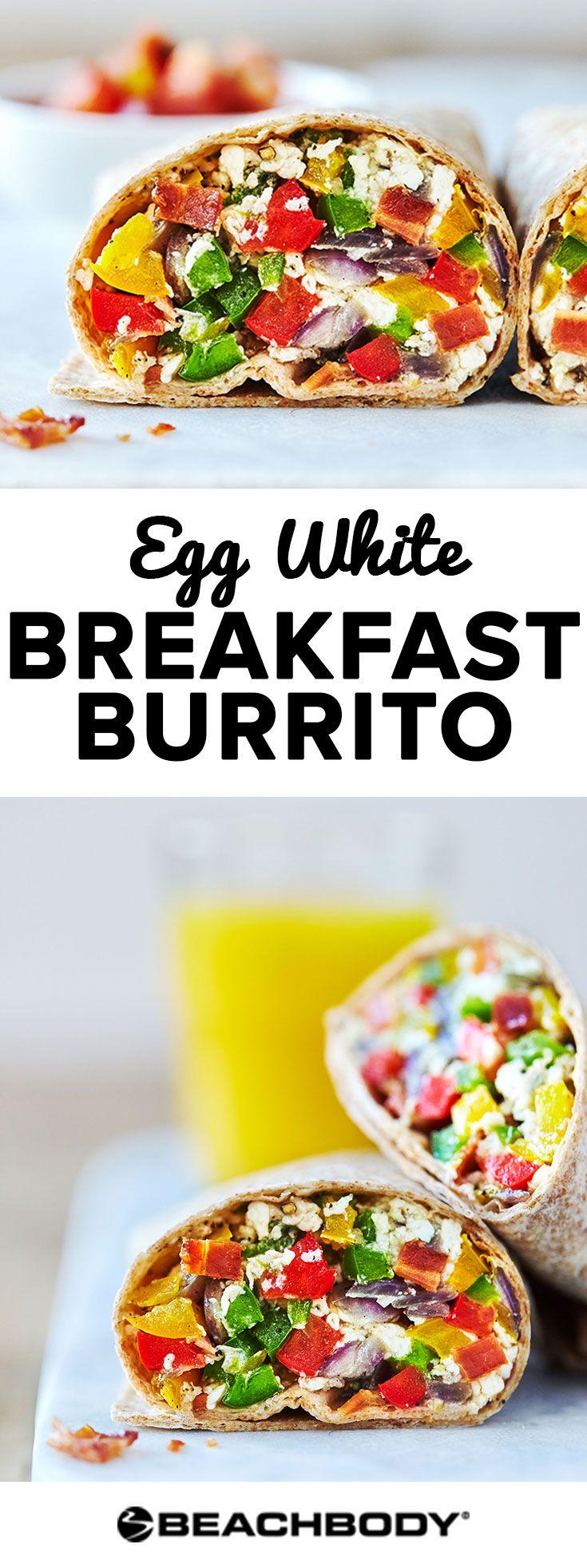 Egg White Breakfast Burrito