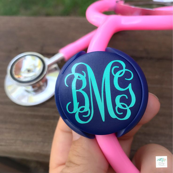 Excited to share the latest addition to my #etsy shop: Nurse Stethoscope Name Tag Nurse Gift Stethoscope Accessories Monogram Stethoscope ID tag Nurse Accessories Pinning Gift Doctor Gift for her