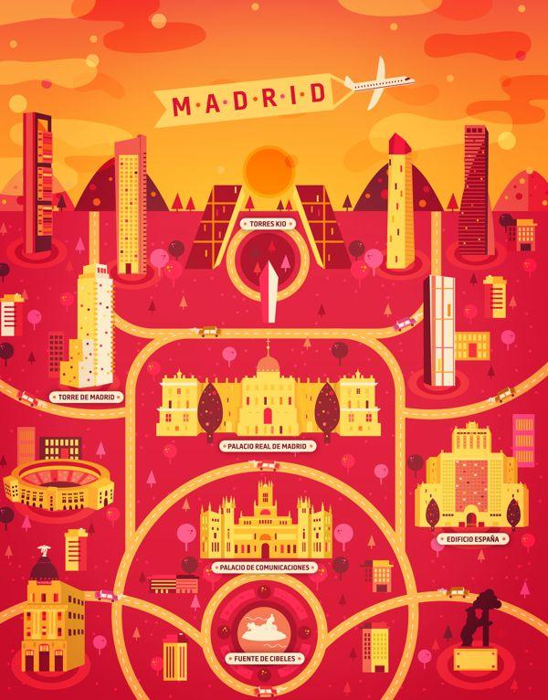 5 ilustraciones cosmopolitas ciudades de todo el mundo por Aldo Crusher9