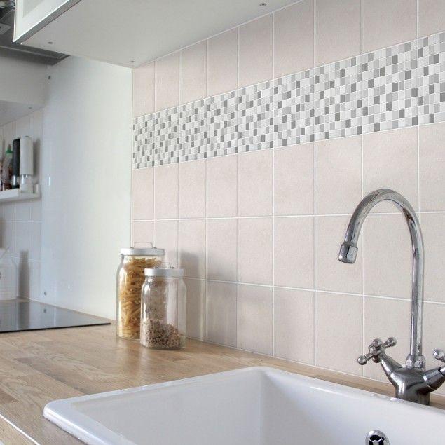 Klebefliesen Küche | Die Besten 25 Fliesenaufkleber Mosaik Ideen Auf Pinterest