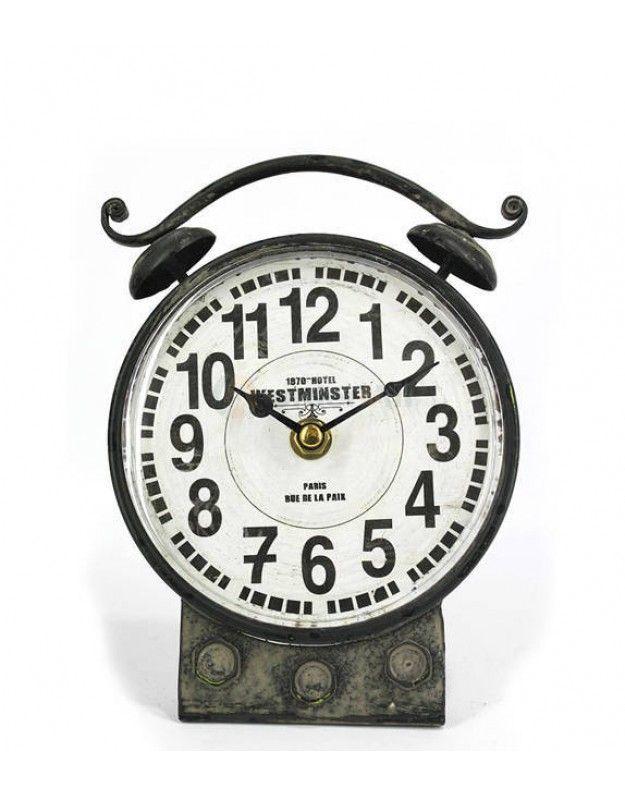 VINTAGE Desktop Clock  15x18 CM
