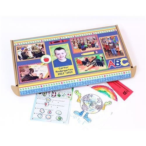 School Memories Box - Decorate a box to keep your child's artwork, special projects, papers and good grade reports throughout the year. (Hint: If you make it at the beginning of the year, those papers will have a home!): Christmas Cards, Memories Boxes, Schools Boxes, Birthday Parties, School Memories, Schools Memories, Fun Ideas, Art Projects, Crafty Ideas