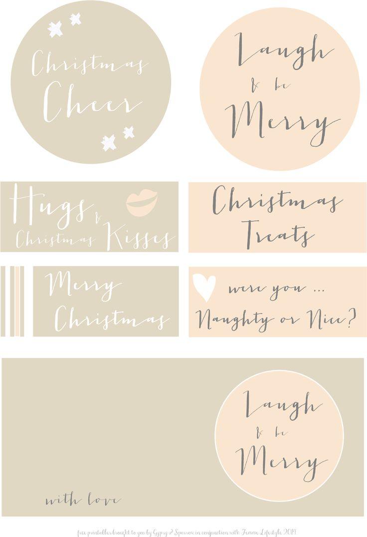 christmas, Christmas Gift Tags, Free Printables, vintage|No comments|{Free Printables}  - Vintage Christmas Tags ...byHeather de BruinSaturday, December 13, 2014{Free Printables}  - Vintage Christmas Tags ...