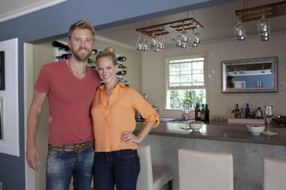 Man Caves Charles Kelley : Charles kelley and his wife cassie with finished man