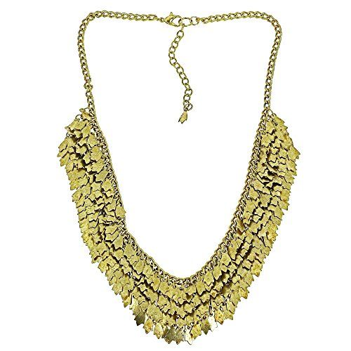 Brass Cluster Golden Necklace for Women Fashion Costume Jewellery Indian ShalinIndia http://www.amazon.in/dp/B00NNGCIYE/ref=cm_sw_r_pi_dp_gl9Fvb1TDV53F