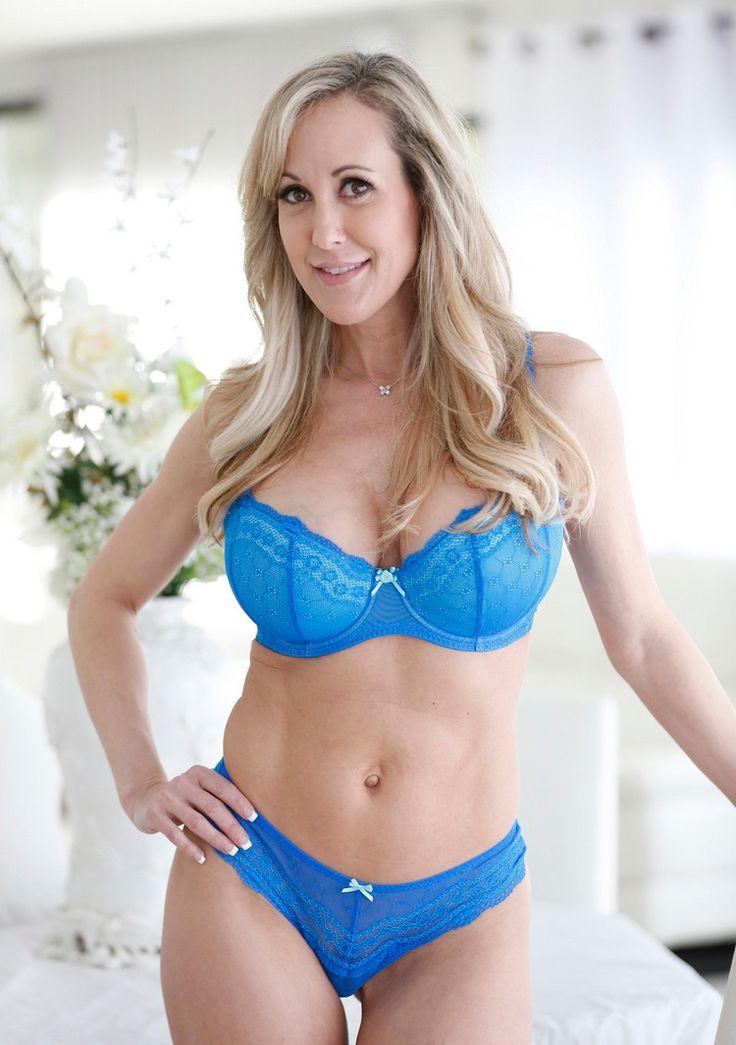 Mature woman blue bikini