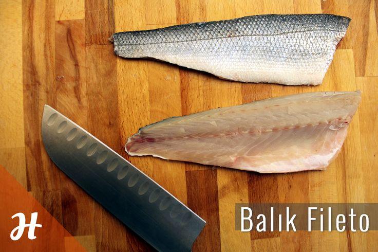 Balık fileto kolayca nasıl yapılır? Detaylar balık bölümünde: http://www.hobiyo.com/kurslar/temel-mutfak-teknikleri-k1