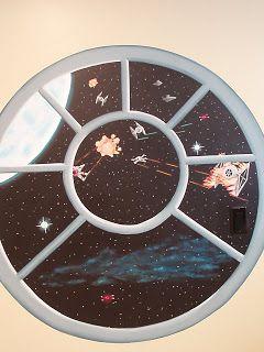 Painted Daisies: Star Wars Bedroom