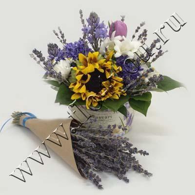 Flo4you - флористика и дизайн / Магазин / Композиция 293012 - срочная доставка цветов