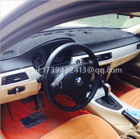 dashmats car-styling Instrument platform Accessories sticker dashboard cover  for BMW M3 E90 E92 E93 2009 2010 2011 2013 2012