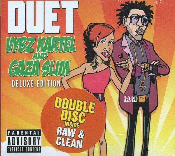 Vybz Kartel Gaza Slim Duets 2CD Deluxe Edition