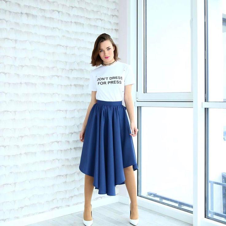 Уже смотрели новое видео @dianagloster про тренды весны-лета 2017?  Наша обновленная юбка отлично впишется в твой летний гардероб!   Пиши в директ для заказа