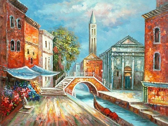 Venice Oil Paintings 001