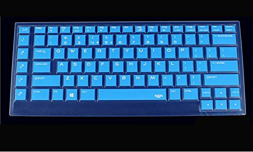 "CaseBuy Ultra Thin Silicone Keyboard Protector Cover Skin for New Dell Alienware 15 ANW15 R2 15.6"" Laptop US Layout(2015 Version)(BLue)"