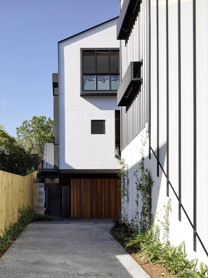 Contemporary three storey interpretation of a traditional Queensland