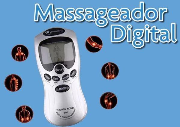 Possui 8 funções: • Acupuntura • Massagem • Perca de Peso
