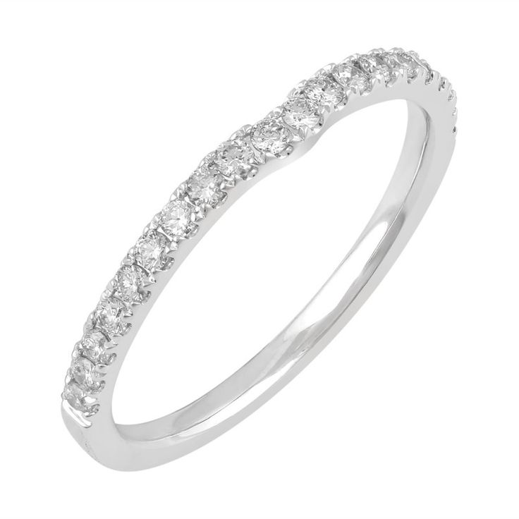 Love by Michelle 18ct White Gold 0.25ct Diamond Ring. Available in stores or online - 9B80009