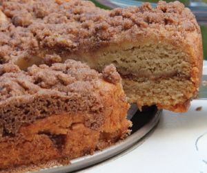 Gluten free, dairy free, egg free coconut cake recipe (for some reason the picture pinned is the wrong one)