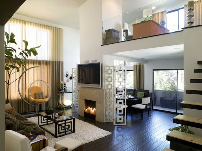Living room by Lori Dennis. Century City  Project.