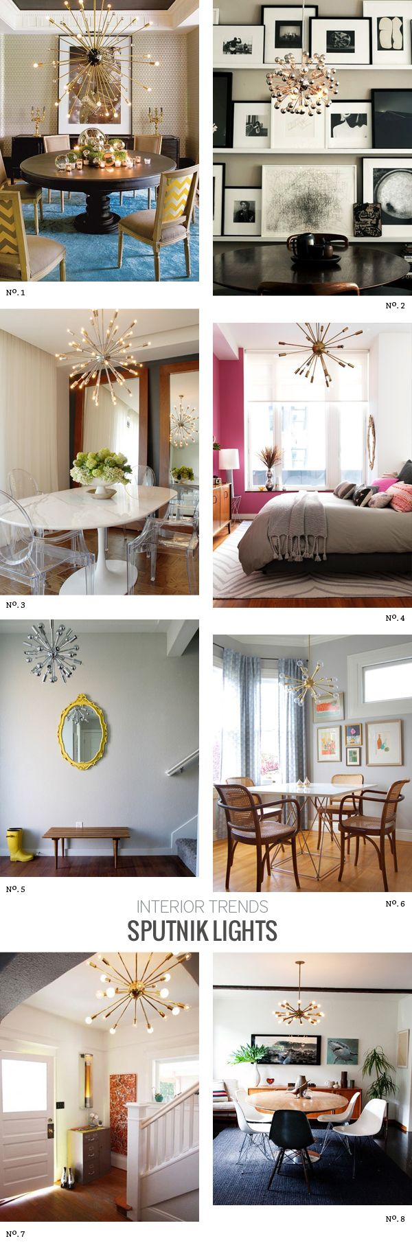 Sputnik Light Roundup By @Modern Eve Featuring Choices From Lamps Plus  #pendant #chandelier