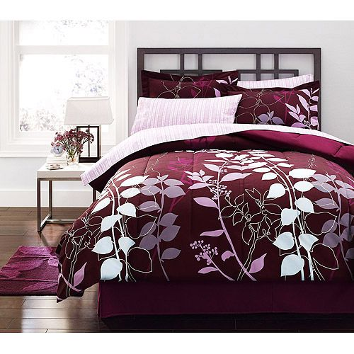 Hometrends Orkaisi Bed In A Bag Bedding Set Walmart Com This Would Match My