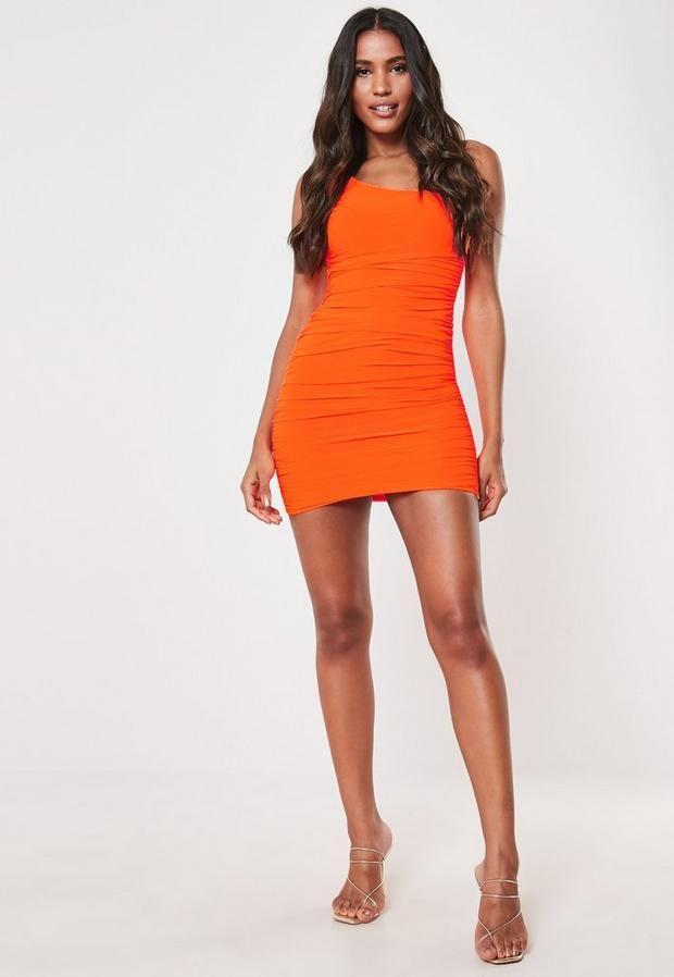 30+ Orange mini dress ideas