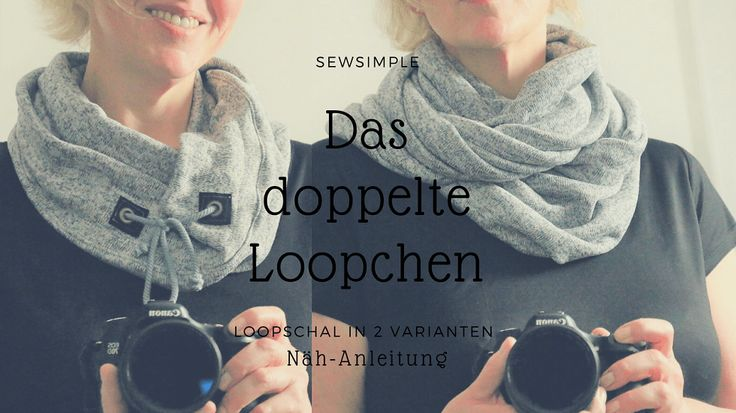 Anleitung: Loop-Schal nähen | mit Tunnelzug