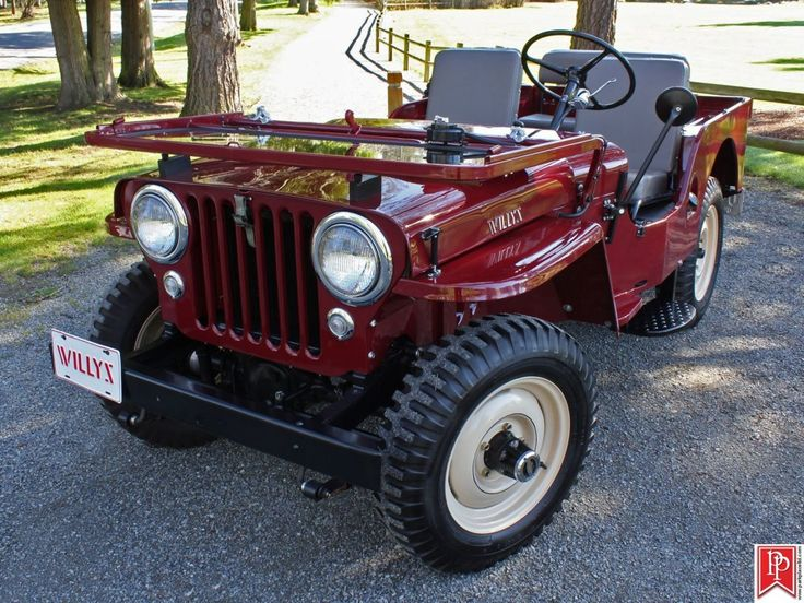 1951 Willys Jeep CJ-3A