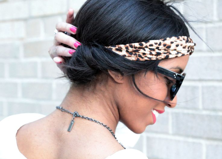 www.thebloggerella.com Friday Feels Like: Headband Hair Tucks