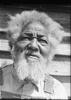 Photo taken in 1941 of Tony Thompson, born into slavery in Greene County Georgia. Tony looks to be about 80 years old, meaning he would have been a very small child when he was a slave.