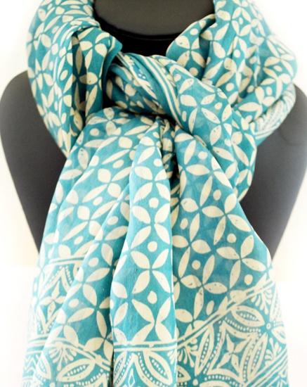 scarf silk batik
