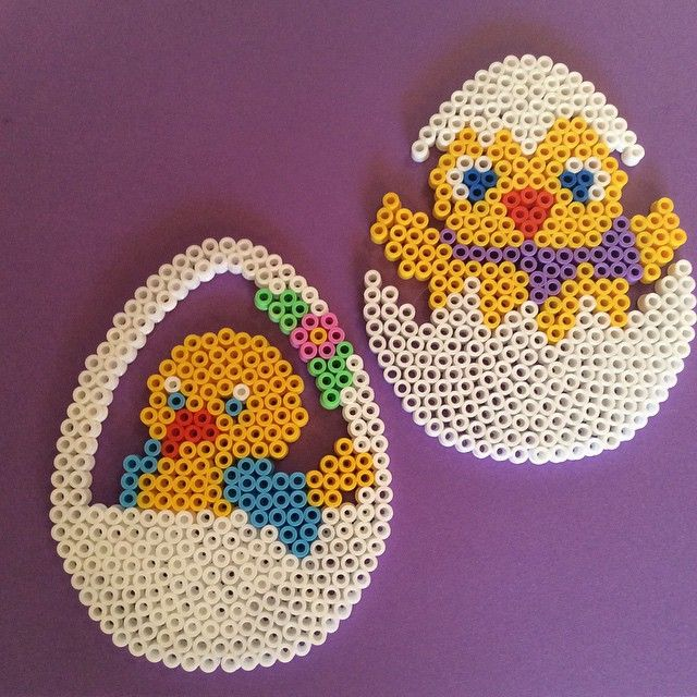 Easter eggs hama beads by kreajoan