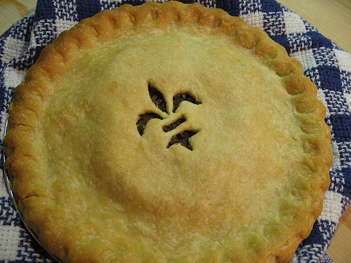 French Canadian Tourtiere - A nice change from the traditional main course (read reviews) - use the link for recipe: http://allrecipes.com/recipe/french-canadian-tourtiere/