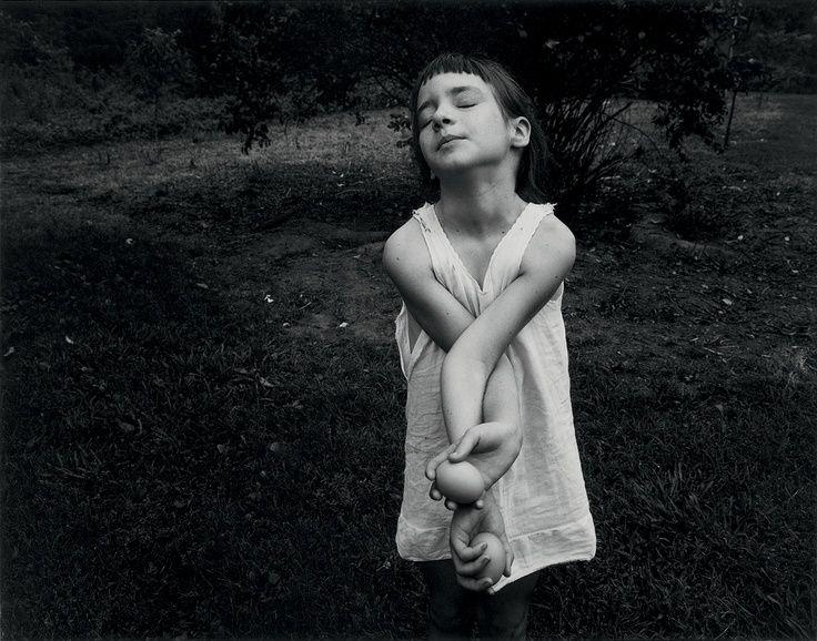 Emmet Gowin 📷 (b. 1941, USA)  | Nancy, 1969 (Danville, Virginia)