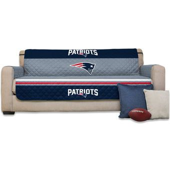 "New England Patriots 75"" x 110"" Sofa Water-Absorbent Furniture Protector"